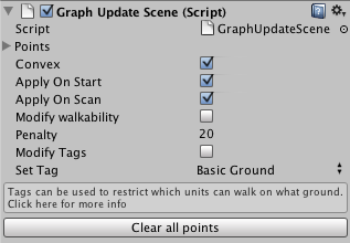 A* Pathfinding Project: Graph Updates during Runtime